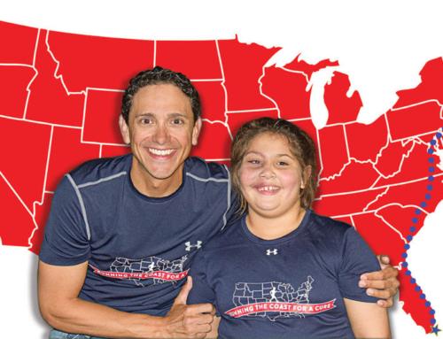 I Ran A Marathon Each Day to Raise Awareness for My Niece's Rare Disease